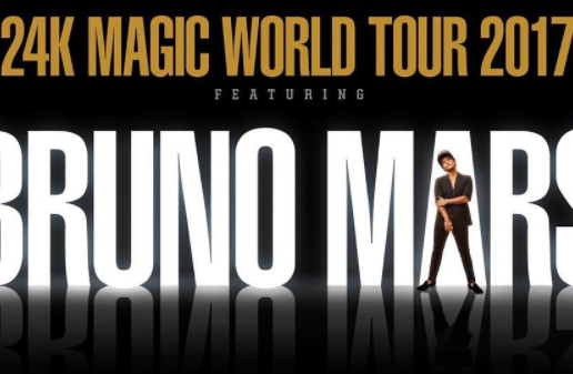 Bruno Mars Announces 24K Magic World Tour!