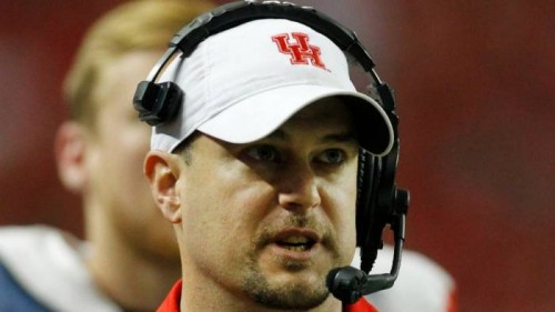 Tom-Herman-500x281 Texas Fires Charlie Strong; Texas Will Hire Houston's Tom Herman As Their Next Head Coach