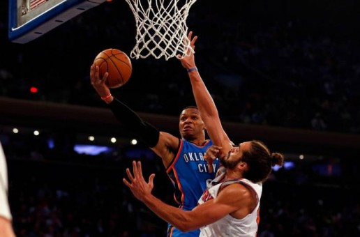 Russell Westbrook's 3rd Straight Triple Double Leads The OKC Thunder Past the New York Knicks (112-103) (Video)