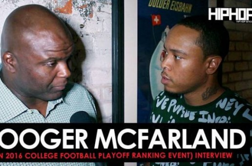 Booger McFarland Talks LSU vs. Alabama, the 2016 College Football Playoff Ranking, Prescott vs. Wentz & More with HHS1987 (Video)
