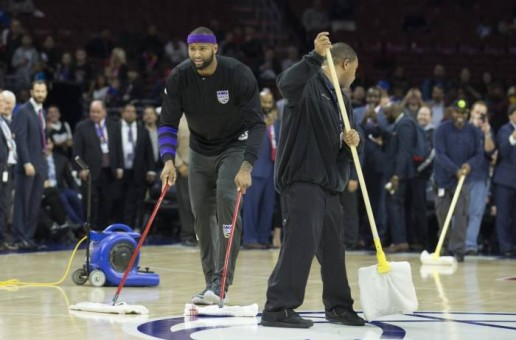 The Kings vs. Sixers Matchup at the Wells Fargo Center Has Been Postponed Due To Moisture On The Court