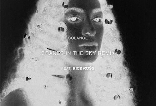 "Rick Ross Add A Verse To Solange's ""Cranes In The Sky"""