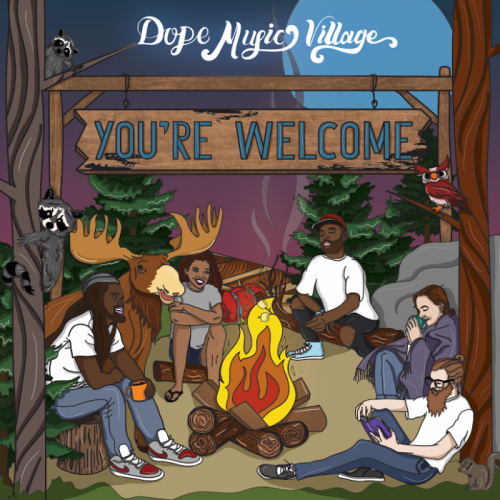 dmv-500x500 Dope Music Village - You're Welcome (EP)