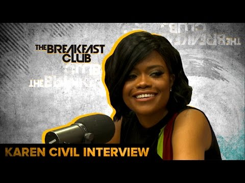 kc Karen Civil Talks Hillary Clinton Campaign, Rebuilding Haiti,  Being A Boss & More On The Breakfast Club (Video)