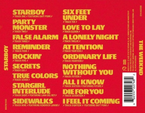 the-500x389 The Weeknd Taps Kendrick Lamar, Future & More For 'Starboy' Album