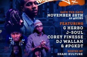 Hot 97 Presents Who's Next Live w/ DJ Wallah, G Herbo, J-Soul, Corey Finesse and #PGKDT at SOB's