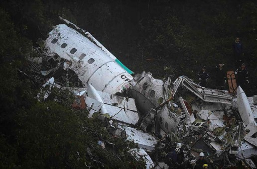 LaMia Airlines Charter Plane Carrying the Chapecoense Soccer Team To Colombia Has Crushed Killing 75 People