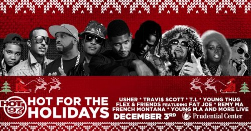 "1200x627-1-500x261 Hot 97 Kept It ""Hot For The Holidays"" This Past Weekend w/ Usher, T.I., Fat Joe, Remy Ma & More!"
