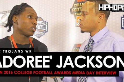 USC Trojans DB/WR Adoree' Jackson Talks Facing Penn State in the Rose Bowl, Possibly Winning the Jim Thorpe Award at the ESPN 2016 College Football Awards Media Day (Video)