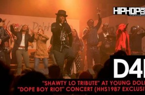 "D4L ""Shawty Lo Tribute"" at Young Dolph's ""Dope Boy Riot"" Concert (HHS1987 Exclusive) (Video) (Shot by Antoin Martin)"