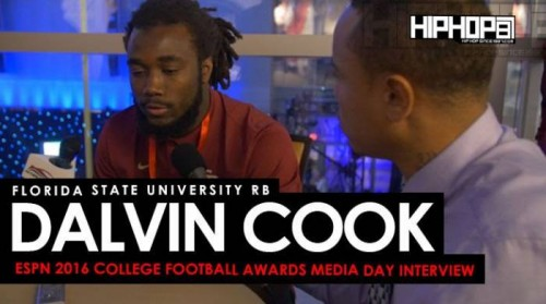Dalvin-500x279 Florida State University RB Dalvin Cook Talks Jimbo Fisher, Winston vs. Francois, Facing the Michigan Wolverines & More at the ESPN 2016 College Football Awards Media Day (Video)