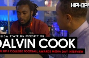 Florida State University RB Dalvin Cook Talks The 2016 Orange Bowl, Facing the Michigan Wolverines & More (Video)