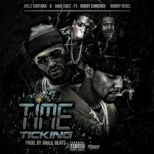 Juelz-500x498 Juelz Santana x Dave East x Bobby Shmurda x Rowdy Rebel - Time Ticking (Prod By Jahlil Beats)