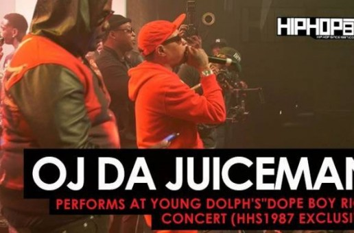 "OJ Da Juiceman Performs at Young Dolph's ""Dope Boy Riot"" Concert (HHS1987 Exclusive) (Shot by Antoin Martin)"