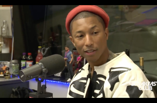 Pharrell Visits The Breakfast Club (Video)