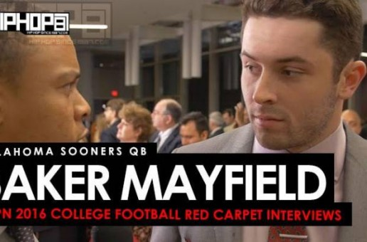 Oklahoma Sooners QB Baker Mayfield Talks The Heisman Trophy, Playing Alongside Dede Westbrook & More on the ESPN 2016 College Football Awards Red Carpet (Video)