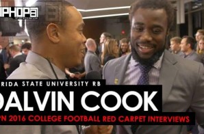 Florida State RB Dalvin Cook Talks the Doak Walker Award & More on the ESPN 2016 College Football Awards Red Carpet (Video)
