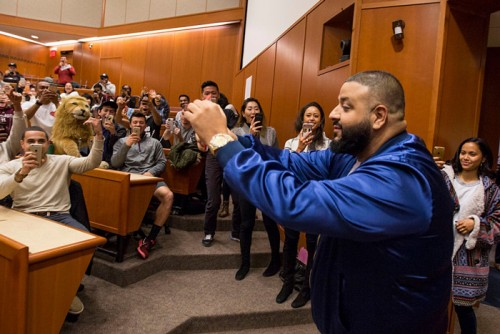 "DJ Khaled Took ""The Keys"" To Harvard University"