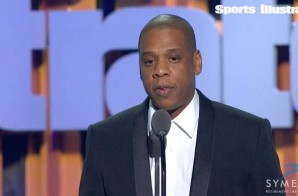 Watch Jay Z Present LeBron James W/ Sports Illustrated's 2016 Sportsperson of the Year Award (Video)