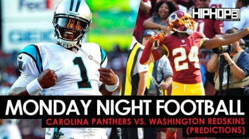 mnf-500x279 Monday Night Football: Carolina Panthers vs. Washington Redskins (Predictions)