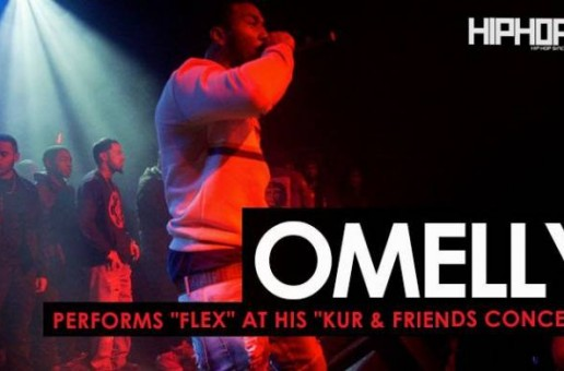 "Omelly Performs ""Flex"" at The ""Kur & Friends Concert"" (HHS1987 Exclusive)"