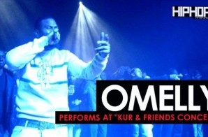 "Omelly Performs ""Drill Something"" & ""Chasing A Bag"" at The ""Kur & Friends Concert"" (Video))"