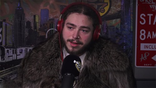 post-malone-hot-97-500x283 Post Malone On Trolling Bieber, Unreleased Kanye West Songs & More w/ Hot 97's Ebro in the Morning