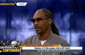Snoop Dogg Talks Colin Kaepernick, The Los Angeles Lakers, The Pittsburgh Steelers & More on Undisputed (Video)