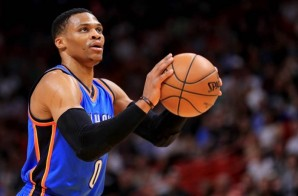 Russell Westbrook Recorded His 15th Triple-Double Of The 2016-17 Season As The Thunder Defeated The Miami Heat (106-94) (Video)