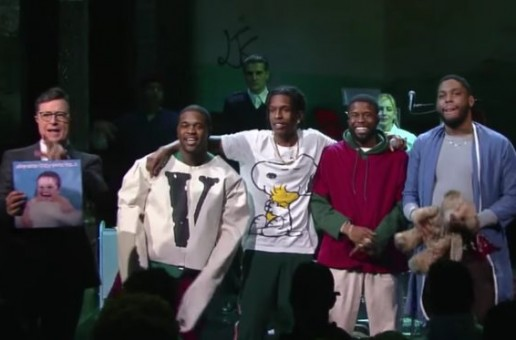 "A$AP Mob Take Over ""The Late Show With Stephen Colbert"""
