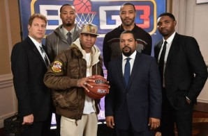 "Yay Yay: Allen Iverson, Stephen Jackson, Kenyon Martin & More Commit To Ice Cube's ""Big 3"" Pro 3-on-3 League"
