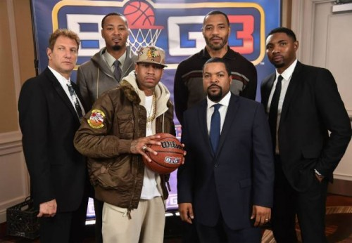 "Ice-Cube-500x346 Yay Yay: Allen Iverson, Stephen Jackson, Kenyon Martin & More Commit To Ice Cube's ""Big 3"" Pro 3-on-3 League"