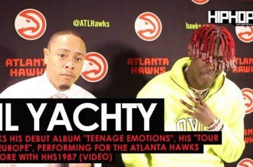 "Lil Yachty Talks His Debut Album ""Teenage Emotions"", His ""Tour Of Europe"", Performing For the Atlanta Hawks & More with HHS1987 (Video)"