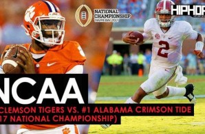 #2 Clemson Tigers vs. #1 Alabama Crimson Tide (2017 National Championship) (Predictions)