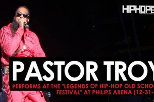 "Pastor Troy Performs at the ""Legends Of Hip-Hop New Year's Eve Old School Festival"" at Philips Arena (12-31-16)"