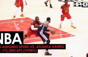 NBA: San Antonio Spurs vs. Atlanta Hawks (1-1-17) (Recap) (Video)