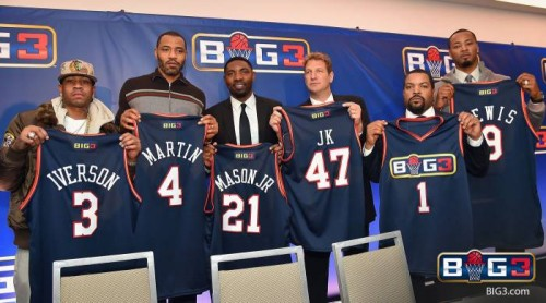 "big3pressfull-500x278 Yay Yay: Allen Iverson, Stephen Jackson, Kenyon Martin & More Commit To Ice Cube's ""Big 3"" Pro 3-on-3 League"
