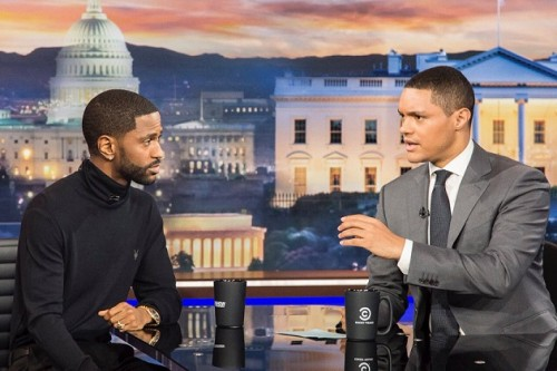 bs-2-500x333 Big Sean Stops By 'The Daily Show' (Video)