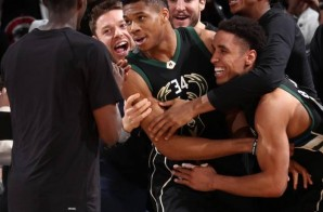 Greek Show: Bucks Star Giannis Antetokounmpo Scores 27 Points, Grabs 13 Rebounds & Hits The Game Winner vs. The Knicks (Video)