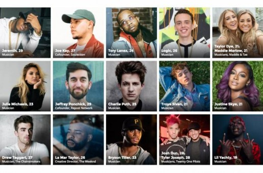 FORBES: 30 Under 30 in Music of 2017 (Video)