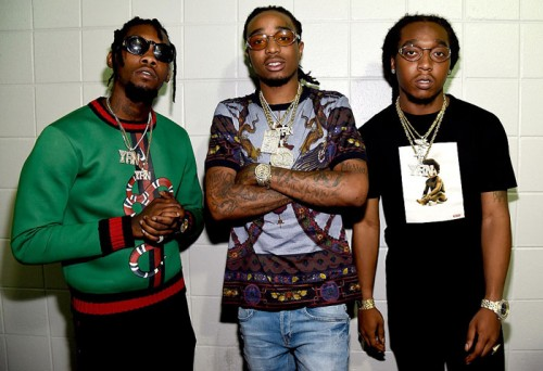 "migos-atlanta-500x342 Migos Earn Their First No. 1 Hit On Hot 100 w/ ""Bad And Boujee"""