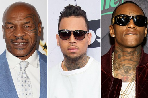 Mike Tyson Records Soulja Boy Diss Track w/ Chris Brown
