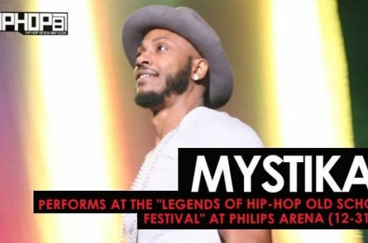 "Mystikal Performs at the ""Legends Of Hip-Hop New Year's Eve Old School Festival"" at Philips Arena (12-31-16)"
