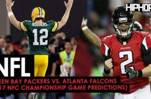 Championship Sunday : Green Bay Packers vs. Atlanta Falcons (2017 NFC Championship Game Predictions)