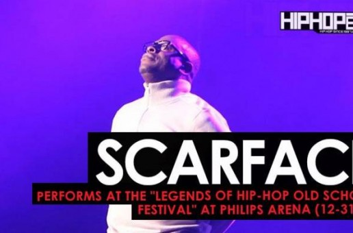 "Scarface Performs at the ""Legends Of Hip-Hop New Year's Eve Old School Festival"" at Philips Arena (12-31-16)"