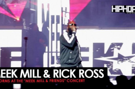"Meek Mill Performs ""Ima Boss"" with Rick Ross at His Meek Mill and Friends Concert (Video)"