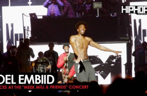 Meek Mill Brings out Philadelphia Sixers Joel Embiid at His Meek Mill & Friends Concert (Video)