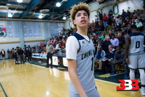 LaMelo-500x334 Chino Hills High School Star LaMelo Ball Dropped 92 Points; 41 Points In The 4th Quarter (Video)