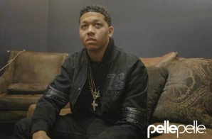 Lil Bibby Gears Up For #FC4 Release, Collabs With Pelle Pelle on Limited Edition Jacket (Video)