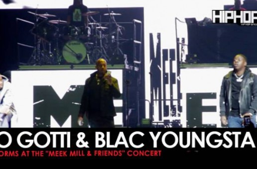 "Blac Youngsta Performs ""Shake Sum"" at The Meek Mill & Friends Concert 2017 (Video)"